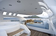 Sun Deck Jacuzzi and Seating Area