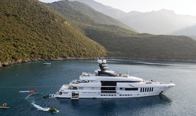 Superyacht Ouranos
