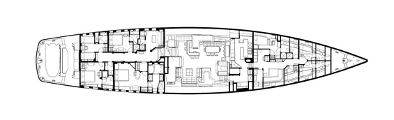 MITseaAH Luxury Yacht deck plans