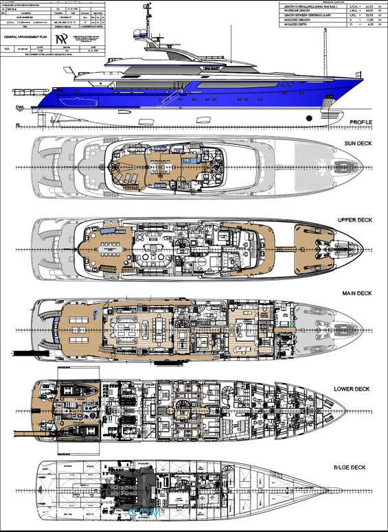 Do It Yourself Home Design: Mary-Jean II Layout - ISA Motor Yacht