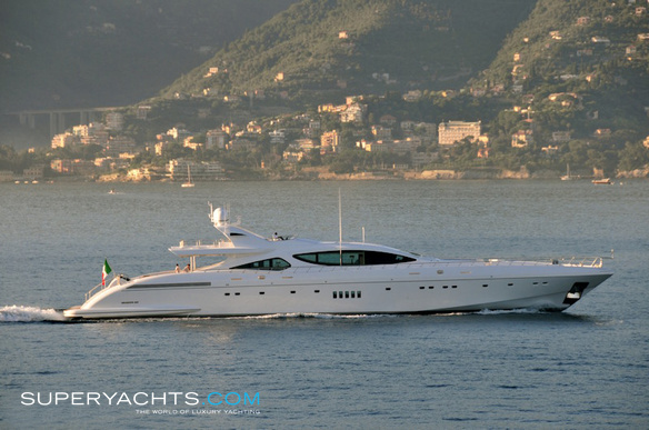 Z Ellerston Luxury Motor Yacht by Overmarine