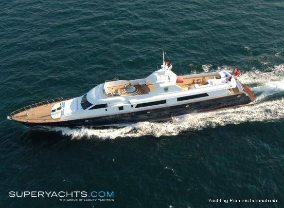 Sea Star Luxury Motor Yacht by Lurssen Yachts