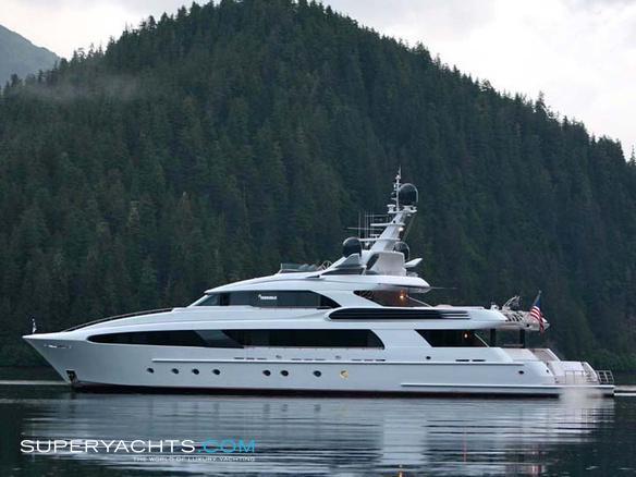 usher delta marine motor yacht