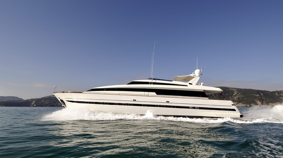 Luxury Motor Yacht Aria by Sanlorenzo