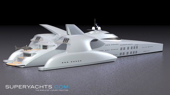 Moonset Yacht Concept
