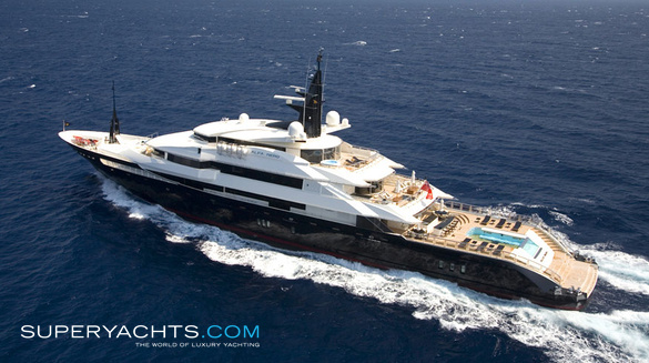 Luxury Motor Yacht Alfa Nero by Oceanco