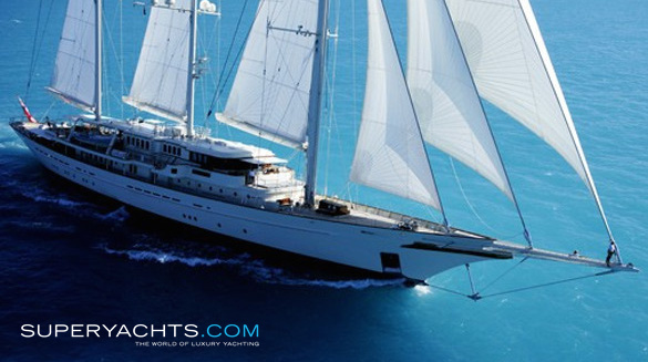 Luxury Sail Yacht Athena by Royal Huisman