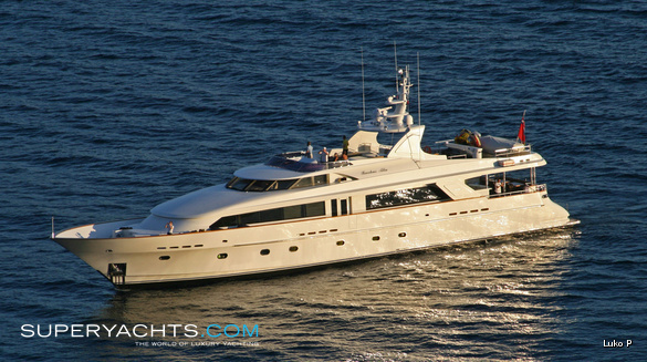 Luxury Motor Yacht Bacchus by Sovereign Yachts