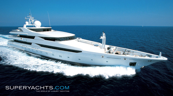 Luxury Motor Yacht Constellation by Oceanco