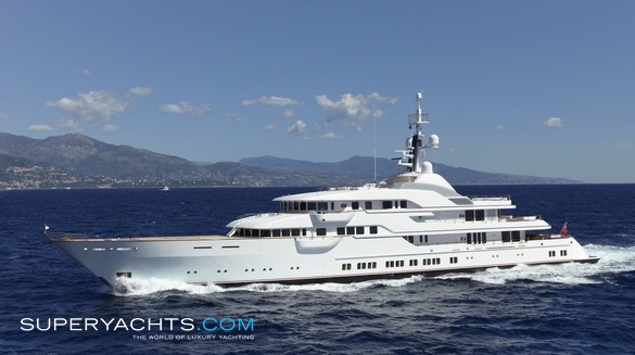 Luxury Motor Yacht Hampshire II by Feadship