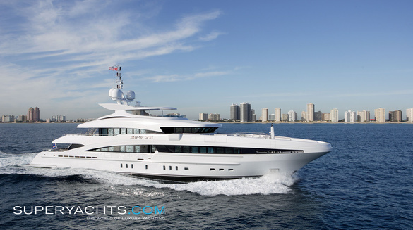Luxury Motor Yacht Inception by Heesen Yachts