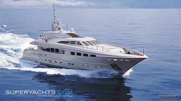 Infinity Yacht - Mondo Marine Motor Yacht   superyachts.com