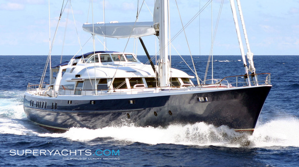 Luxury Sail Yacht MITseaAH by Pendennis Shipyard