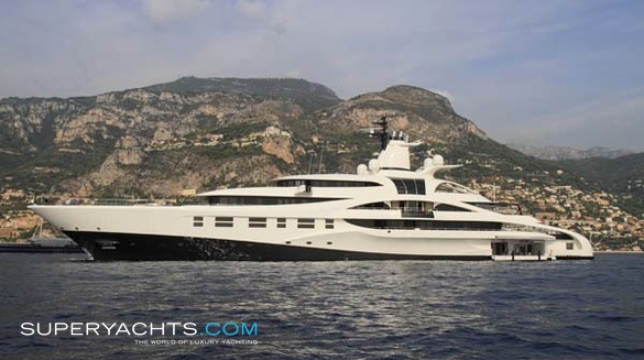 Luxury Motor Yacht Palladium by Blohm + Voss Shipyards