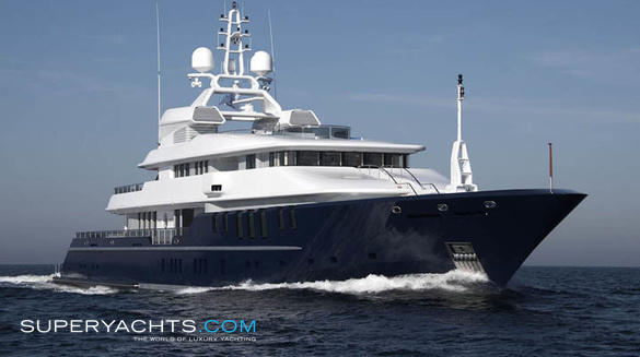 Luxury Motor Yacht Triple 7 by Nobiskrug