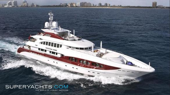 Celestial Hope Luxury Motor Yacht by Heesen Yachts