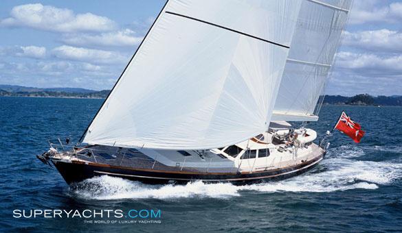 Adjutor Luxury Sail Yacht