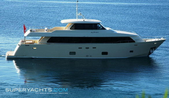 Alpha one yacht for sale layout aegean yacht for Luxury motor yachts for sale