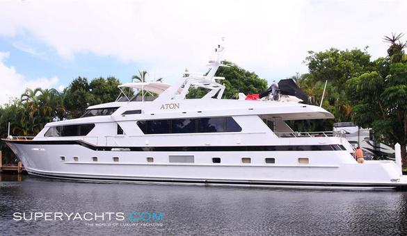 Aton yacht for sale broward marine motor for Luxury motor boats for sale