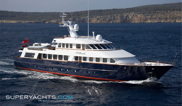 Blue Attraction Charter Amels Motor Yacht Superyachts Com