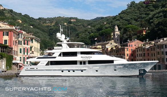 Gene Machine Luxury Motor Yacht by Westport
