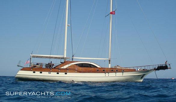 Justiniano Luxury Sail Yacht