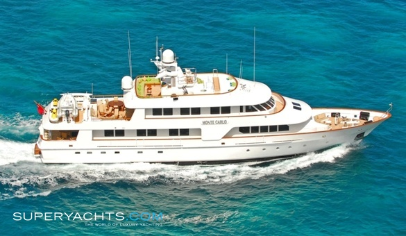 Monte carlo yacht for sale amels motor yacht for Luxury motor boats for sale