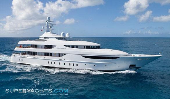 Oasis Charter Lurssen Yachts Motor Yacht