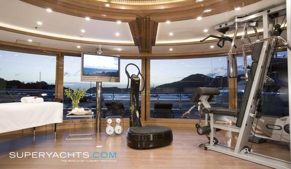 Alfa Nero Charter - Oceanco Motor Yacht Yacht   superyachts com
