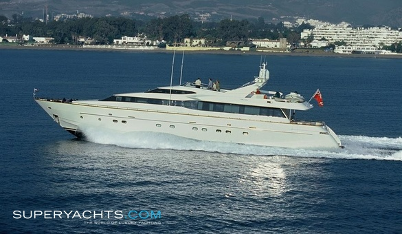 Aquarius s yacht for sale falcon yachts for Luxury motor boats for sale