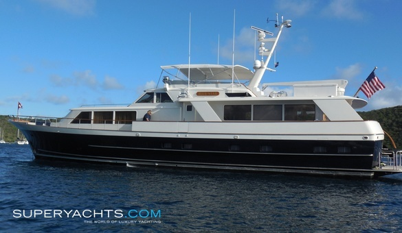 Blue star yacht for sale burger boat company for Luxury motor boats for sale