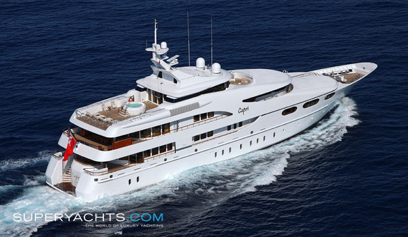 Capri yacht for sale lurssen yachts motor for Luxury motor boats for sale