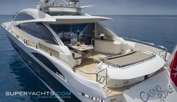 luxury yacht casino royale