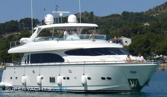 Espresso Yacht Specifications Horizon Superyachts Com