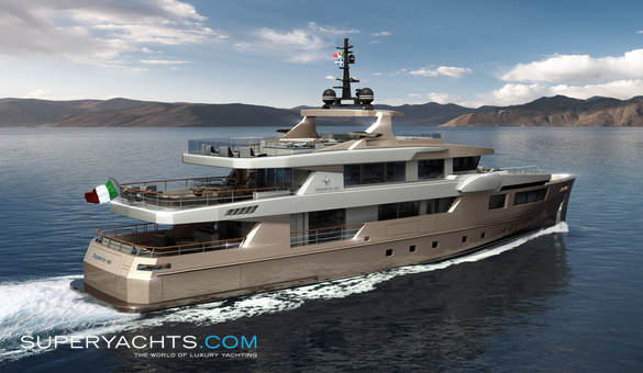 Impero 40 yacht for sale admiral motor yacht for Luxury motor boats for sale