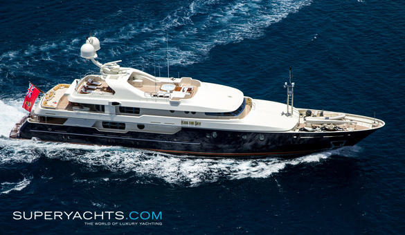 Kiss the sky yacht for sale amels motor yacht for Luxury motor boats for sale