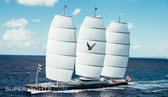 Maltese Falcon Charter - Perini Navi Sail     superyachts com