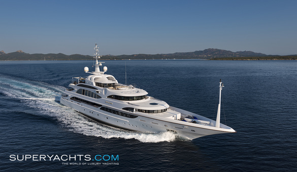Luxury Yacht For Sale Superyachtscom - Cruise ship list by size