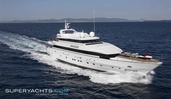 Miraggio yacht for sale siar moschini motor for Luxury motor boats for sale