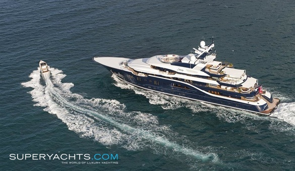Solandge Charter Lurssen Yachts Motor Yacht Superyachts Com