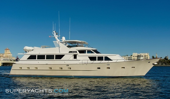 The job yacht for sale broward marine motor for Luxury motor boats for sale