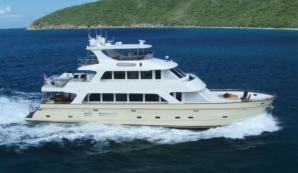 Watershed ii yacht for sale president yachts for Luxury motor boats for sale