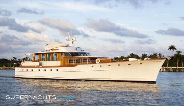 Wishing Star Yacht For Sale Trumpy Motor