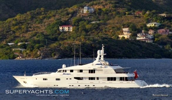 Mosaique Yacht Proteksan Turquoise Motor