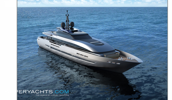 43m Fast Luxury Motor Yacht by Baglietto