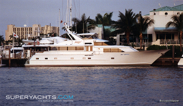 Abbracci Luxury Motor Yacht by Broward Marine