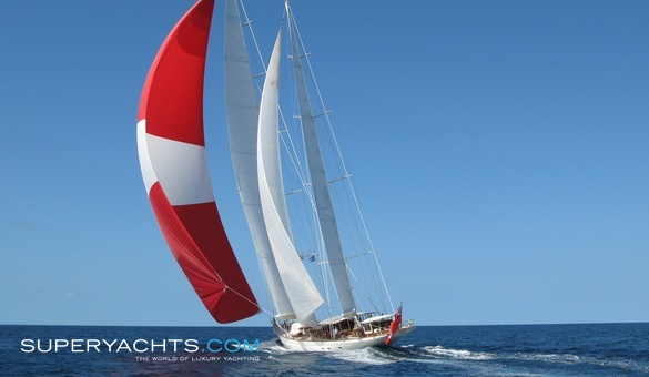 Adele Luxury Sail Yacht by Vitters Shipyard
