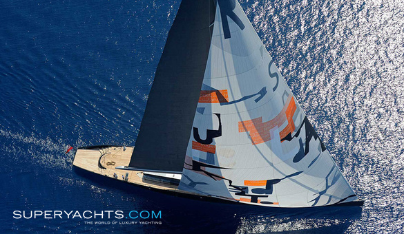 Aglaia Luxury Sail Yacht by Vitters Shipyard
