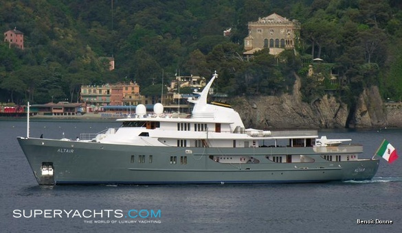 Altair III Luxury Motor Yacht by Amels