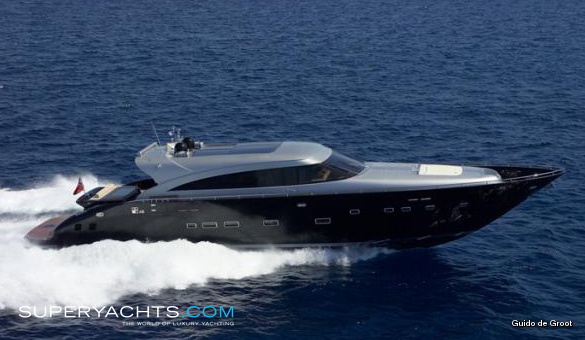 Anthea Luxury Motor Yacht by AB Yachts